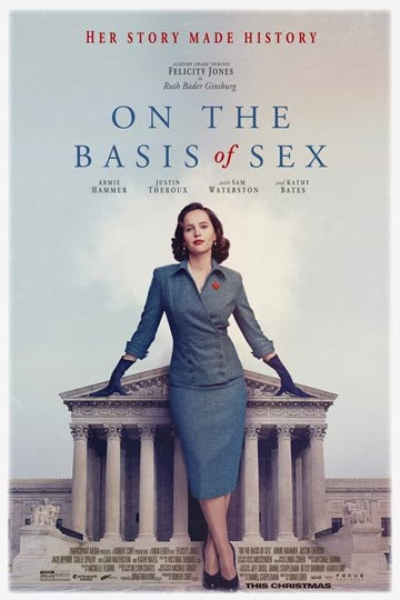 ON THE BASIS OF SEX (PG-13) Movie Poster
