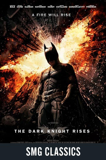 $5 THE DARK KNIGHT RISES (PG-13) Movie Poster