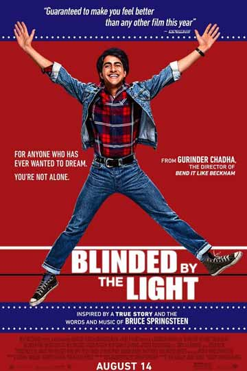 BLINDED BY THE LIGHT (PG-13) Movie Poster