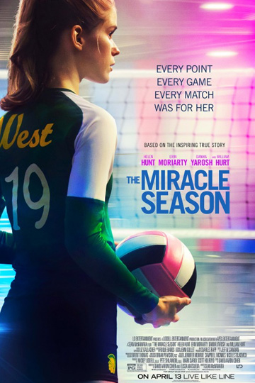 THE MIRACLE SEASON (PG) Movie Poster