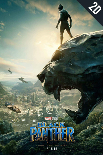 BLACK PANTHER. (PG-13) Movie Poster
