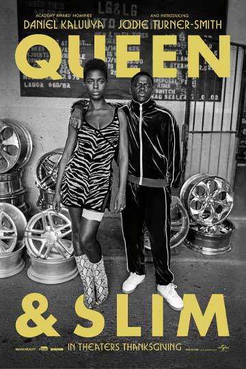 QUEEN & SLIM (R) Movie Poster