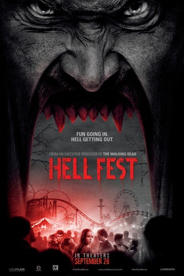HELL FEST (R) Movie Poster