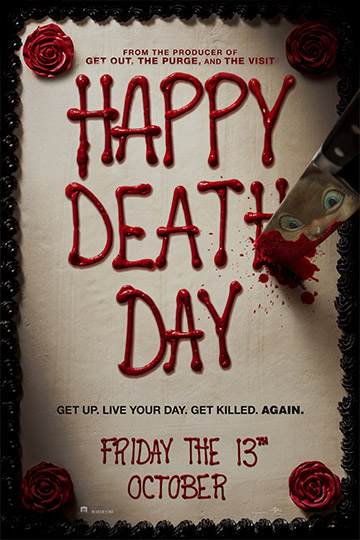 HAPPY DEATH DAY (PG-13) Movie Poster