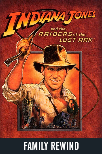$5 RAIDERS OF THE LOST ARK (PG) Movie Poster