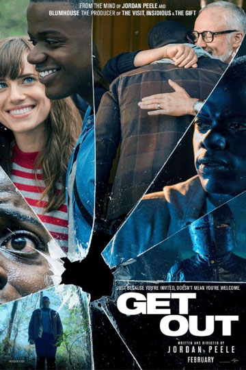 GET OUT (R) Movie Poster