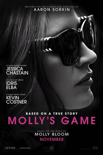 MOLLY'S GAME (R) Movie Poster