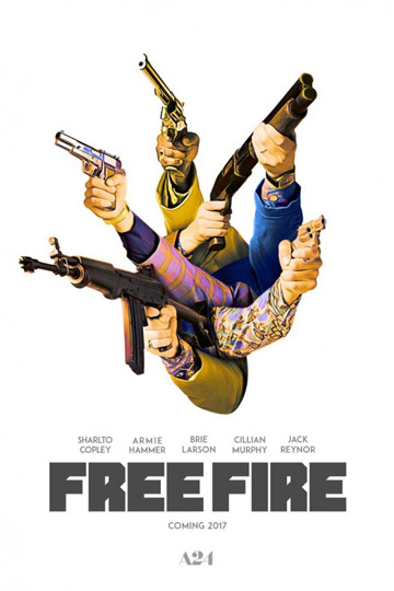 FREE FIRE (R) Movie Poster