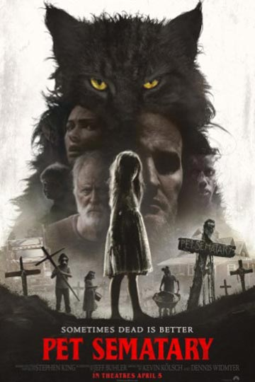 PET SEMATARY (R) Movie Poster