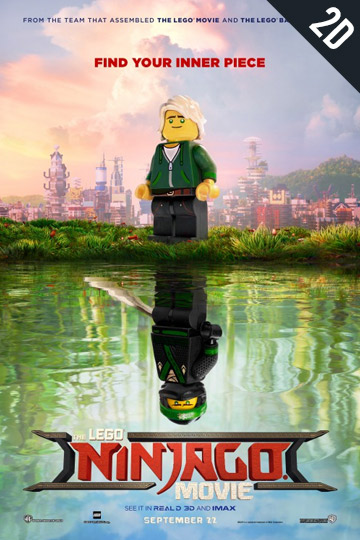 THE LEGO NINJAGO MOVIE (PG) Movie Poster