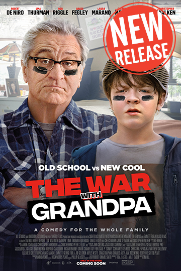 The War with Grandpa (PG) Movie Poster