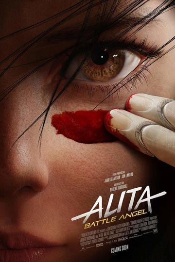 ALITA: BATTLE ANGEL (PG-13) Movie Poster
