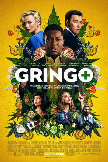 GRINGO (R) Movie Poster