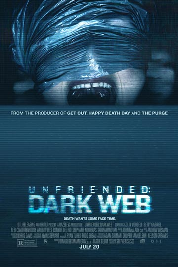 UNFRIENDED: DARK WEB (R) Movie Poster