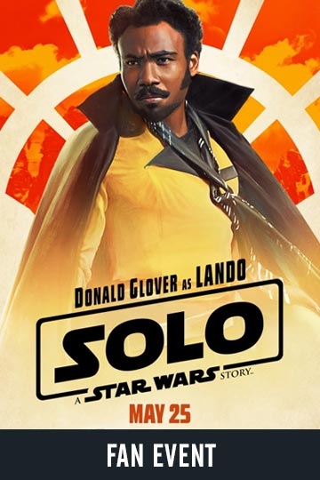 fan-event-solo-a-star-wars-story Movie Poster