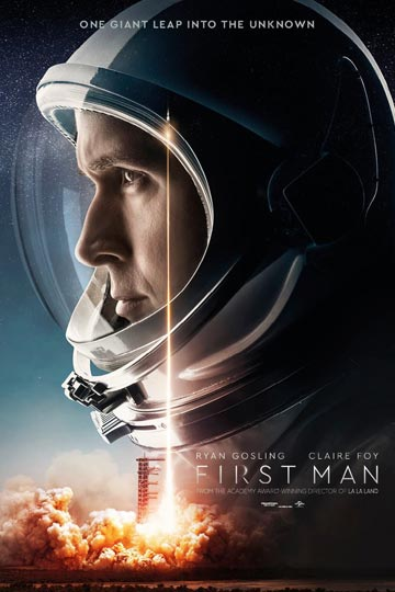 FIRST MAN (PG-13) Movie Poster