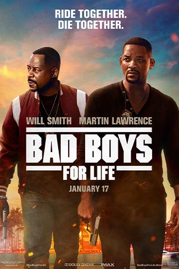 Bad Boys for Life (R) Movie Poster
