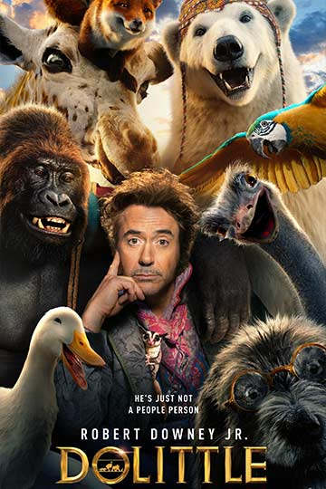 Dolittle (PG) Movie Poster