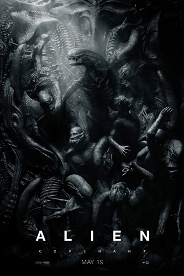ALIEN: COVENANT (R) Movie Poster