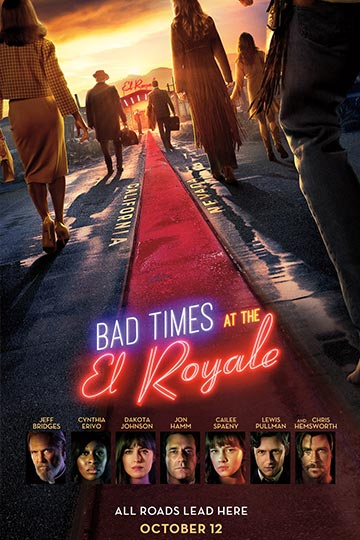 BAD TIMES AT THE EL ROYALE (R) Movie Poster