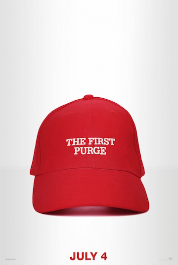 THE FIRST PURGE (R) Movie Poster