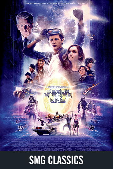 $5 Ready Player One (PG-13) Movie Poster