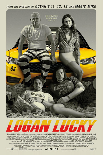 LOGAN LUCKY (PG-13) Movie Poster