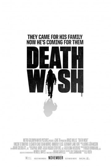 DEATH WISH (R) Movie Poster