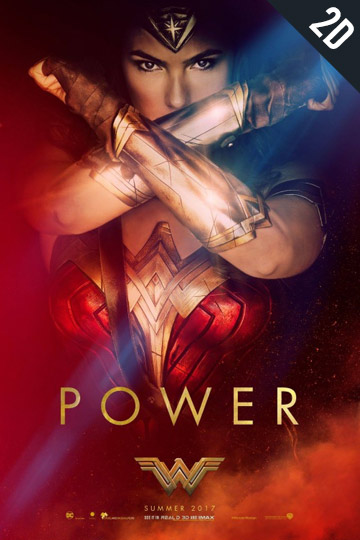 WONDER WOMAN (PG-13) Movie Poster