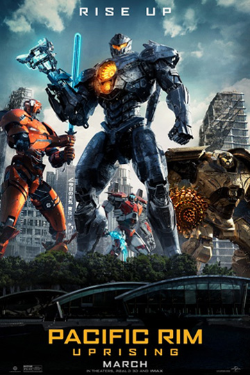 PACIFIC RIM UPRISING (PG-13) Movie Poster