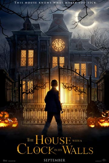 THE HOUSE WITH A CLOCK IN ITS WALLS (PG) Movie Poster