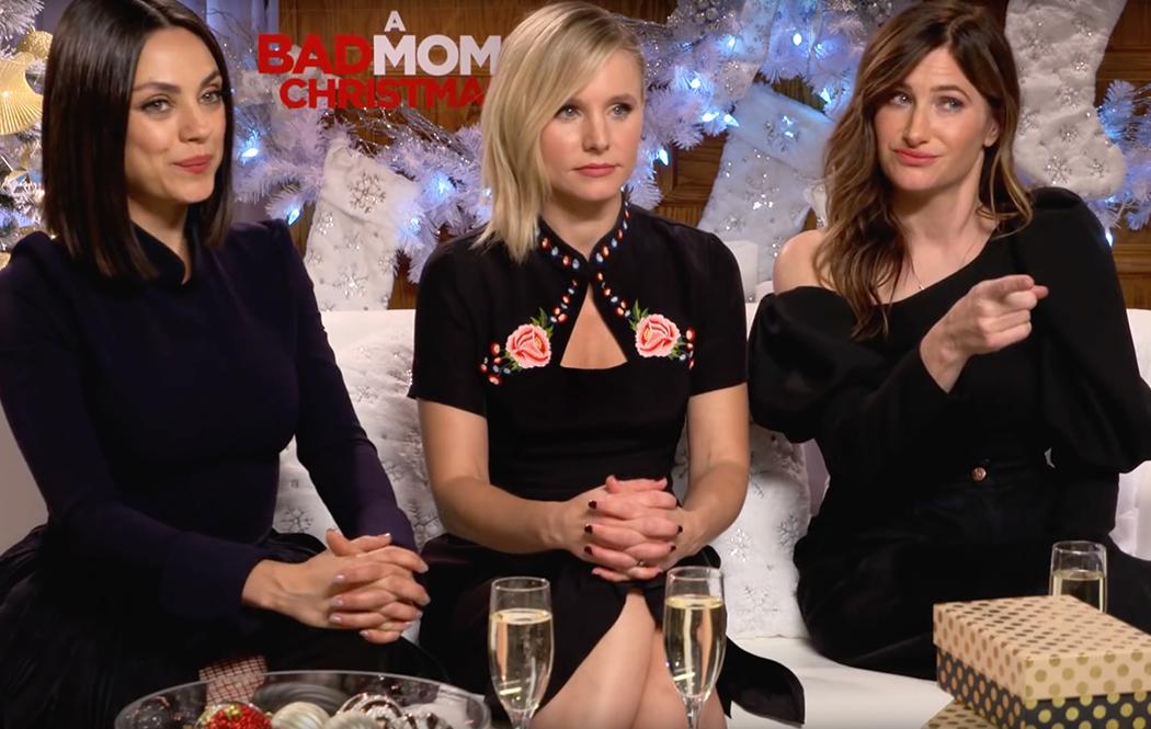 Watch Bad Moms Christmas.Behind The Scenes Movie Exclusives Studio Movie Grill