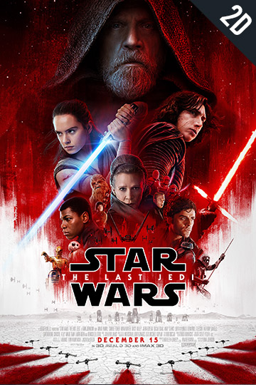 STAR WARS: THE LAST JEDI (PG-13) Movie Poster