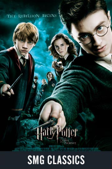 $5 HARRY POTTER AND THE ORDER OF THE PHOENIX (PG-13) Movie Poster