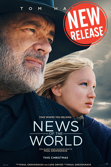 News of the World (PG-13) Movie Poster