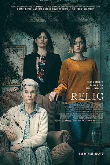 Relic (R) Movie Poster