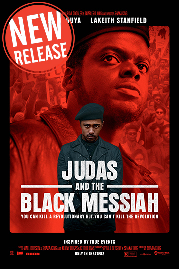 Judas and the Black Messiah (R) Movie Poster
