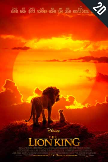THE LION KING (PG) Movie Poster