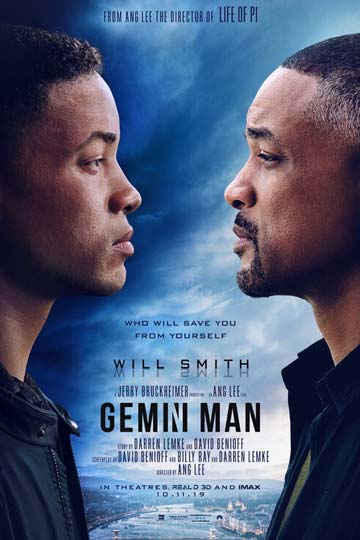 GEMINI MAN (PG-13) Movie Poster