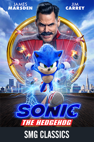 $5 Sonic the Hedgehog (PG) Movie Poster