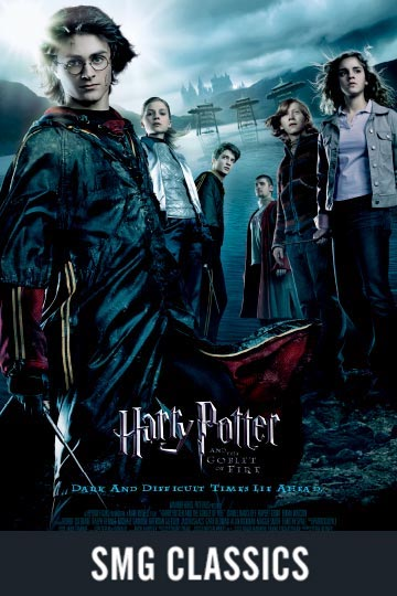 $5 HARRY POTTER AND THE GOBLET OF FIRE (PG-13) Movie Poster