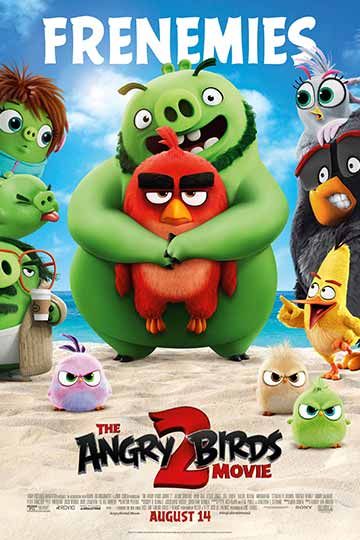 THE ANGRY BIRDS MOVIE 2 (PG) Movie Poster