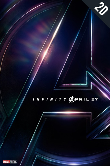 AVENGERS: INFINITY WAR (PG-13) Movie Poster