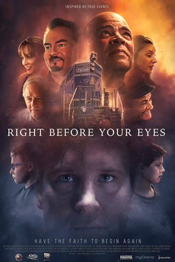 RIGHT BEFORE YOUR EYES (NR) Movie Poster