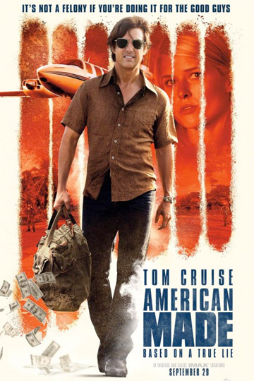 AMERICAN MADE (R) Movie Poster