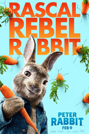 PETER RABBIT (PG) Movie Poster