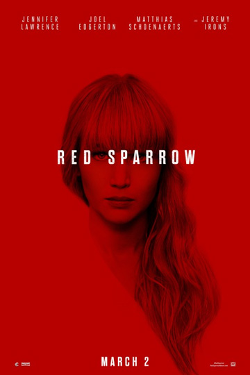 RED SPARROW (R) Movie Poster