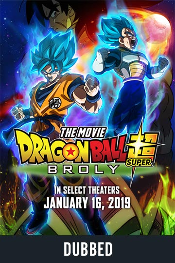 DRAGON BALL SUPER: BROLY (DUBBED) (NR) Movie Poster