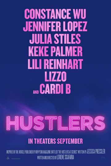 HUSTLERS (R) Movie Poster