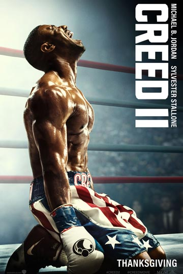CREED II (PG-13) Movie Poster